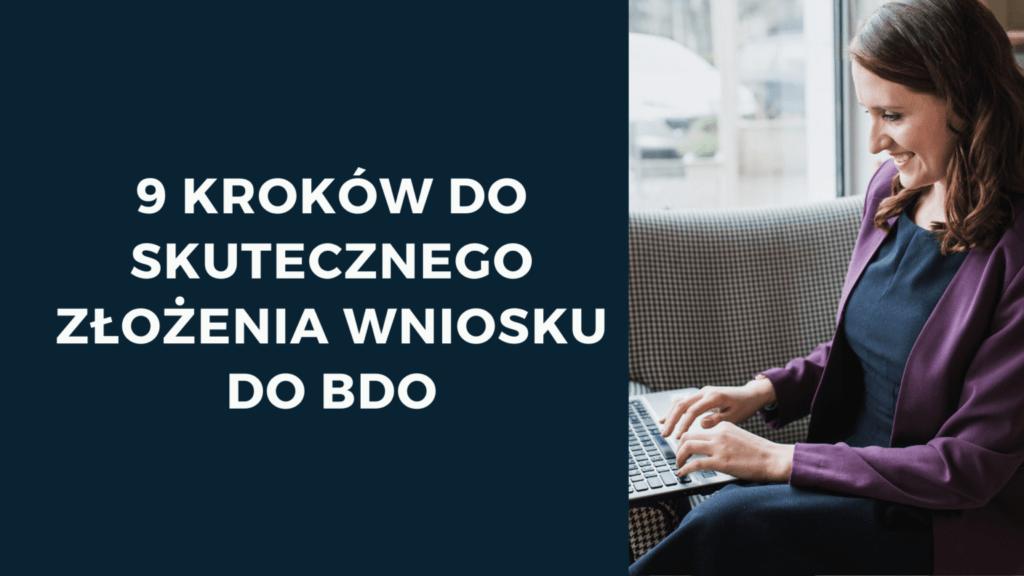jak się zarejestrować w BDO