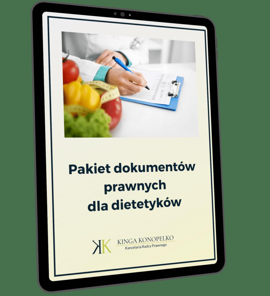 Pakiet dokumentów prawnych dla dietetyka