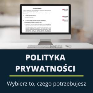 Polityka prywatności